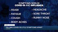 Telling COVID-19 and flu symptoms apart