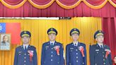 竹市警局卸新任督察長、分局長26日布達交接