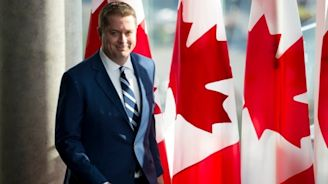 Andrew Scheer is registered for selective service — the U.S. agency that runs the military draft | CBC News