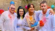 Priyanka Chopra & Nick Jonas Celebrate Holi In London With Nick's Parents