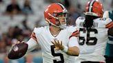 Browns' backup QB to start vs. Broncos