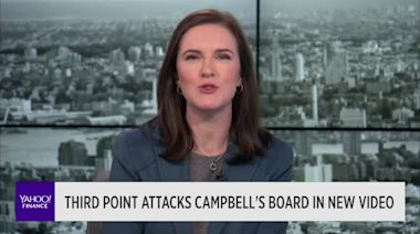 Third Point attacks Campbell's board in new video