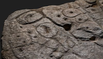 Bronze Age stone slab discovered in France is oldest map in Europe, say archaeologists