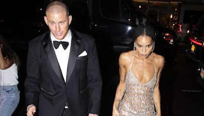 Zoë Kravitz and Channing Tatum 'Didn't Take Their Hands Off Each Other' at Met Gala After-Party, Source Says