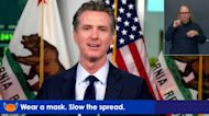 'Doesn't Surprise Me': Newsom Responds To Trump's Tweet Saying 'Don't Be Afraid Of COVID'