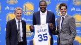 Top Moments: Kevin Durant signs with Warriors in 2016