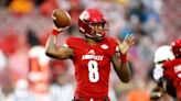 Lamar Jackson reacts to surprise Louisville number retirement: 'Y'all just made my day'