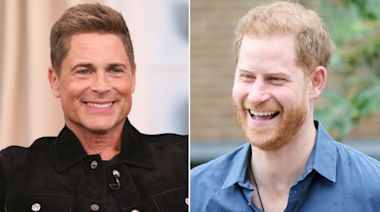 Rob Lowe Clarifies Comment About Prince Harry's 'Ponytail' (Exclusive)
