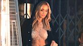 Rita Ora Channels Britney Spears In Sheer Sequined Mesh Top For Sexy New Photo