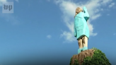Melania Trump statue burned near her hometown in Slovenia on July 4, officials say