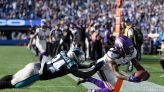 Cousins throws TD pass in OT; Vikings beat Panthers 34-28
