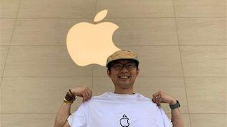 蘋果信義A13明開幕 湧排隊人潮
