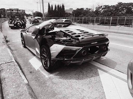 超暖!千萬藍寶堅尼被小貨車撞壞 高富帥不索賠反幫肇事者修車