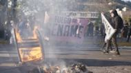 Multitudinaria marcha en Chile a tres días del segundo aniversario de las protestas