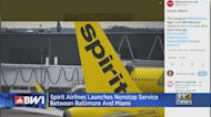 Spirit Airlines Launches Nonstop Service From Baltimore To Miami