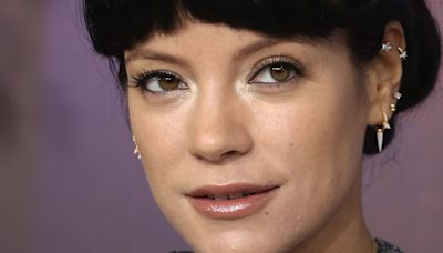Lily Allen now has the shortest micro-fringe we've *ever* seen