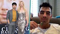 Joe Jonas Gets Jade Roller Facial From Wife Sophie Turner