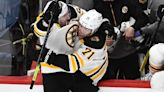 Bruins' Taylor Hall had hilarious reaction to Brad Marchand's OT goal