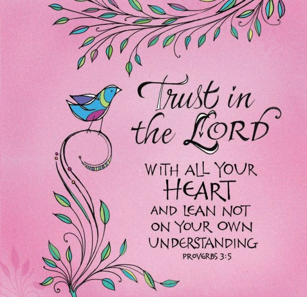 Trust in the LORD! | Quotes | Pinterest