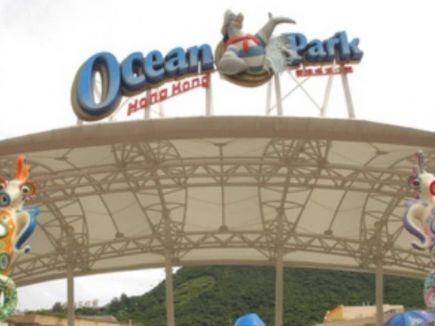 信報即時新聞 -- 海洋公園及水上樂園早上暫停開放