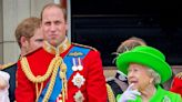 Prince William's Birthday Post From the Queen Seemingly Shaded Harry's Stripped Military Titles