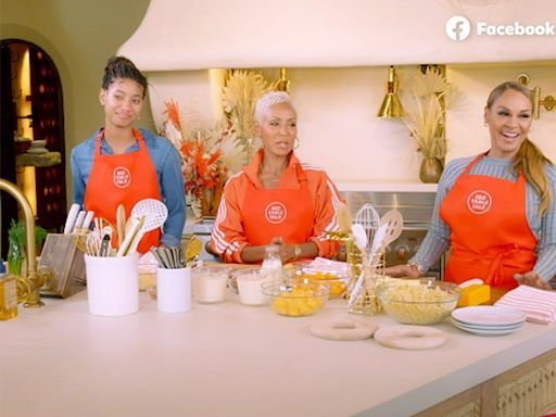 Jada Pinkett Smith Has Will Smith's Ex-Wife on Red Table Talk to Cook for the Holidays