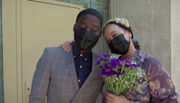 New Yorkers return to the chapel to say 'I do'