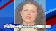 Arkansas woman missing for several days found wrapped in sheet under ex-boyfriend's bed, authorities say