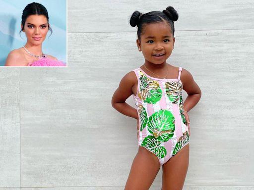 Khloé Kardashian Jokes That Daughter True, 3, Is Coming for Kendall Jenner's Modeling Career