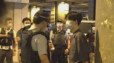 721事件兩周年 賢學思政元朗站外設街站 警在場戒備