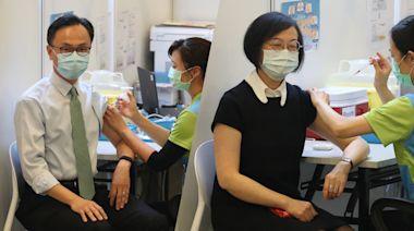 疫苗接種︱周三起可預約打德國BioNTech 3周共逾14萬名額 僅7中心接種   蘋果日報
