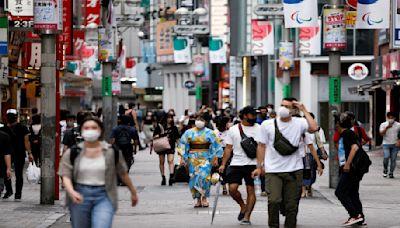 日本第五波再降溫 東京連7日新增低於千例
