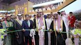 沙烏地工業和礦產資源部長揭幕進博會沙烏地館