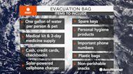 Essential items for your evacuation go bag