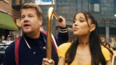 James Corden and Ariana Grande's end-of-lockdown musical skit criticised as 'tone deaf' and 'privileged bs'