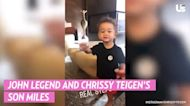 On the Move! See Chrissy Teigen, More Stars Watch Their Babies' 1st Steps