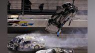 Daytona 500 crash sends Ryan Newman to hospital, Denny Hamlin wins race