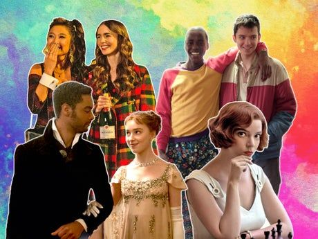 The Queen's Gambit, Emily in Paris and Bridgerton are all the same: colourful, people-pleasing TV