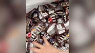Deja en evidencia toda la comida que desperdicia un supermercado