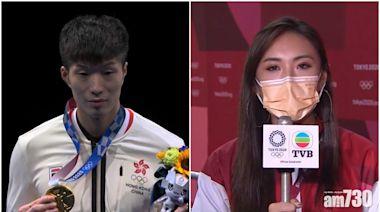 東京奧運 陳約臨採訪張家朗引負評 任大專主持技巧講師被指不專業 - 新聞 - am730