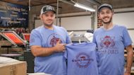 Philly delivery driver starts t-shirt campaign for small businesses