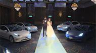 業者首創drive-in婚禮 車子直接開進宴會廳