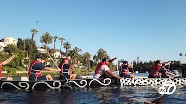 Dragon boats will be taking over Echo Park this weekend