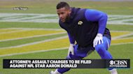 Attorney: Assault Charges To Be Filed Against NFL Star Aaron Donald