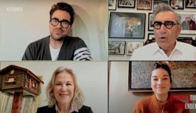 Watch the Schitt's Creek Cast Reunite to Give Their Warmest Regards to Front-Line Workers