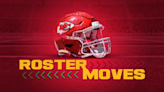 Chiefs announce trio of roster moves on Saturday