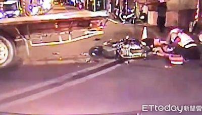 無照高中生雙載撞迴轉拖板車釀1死1傷 司機賠償和解獲緩刑