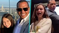 Alex Rodriguez & Daughter Natasha Bust A Move To Jennifer Lopez's 'PaTi' Challenge