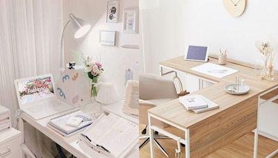 讓房間脫胎換骨!10款「質感系書桌椅」辦公、吃飯化妝多功能