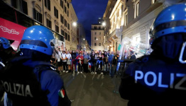 Italy's unions rally against neo-fascist groups after violent protests